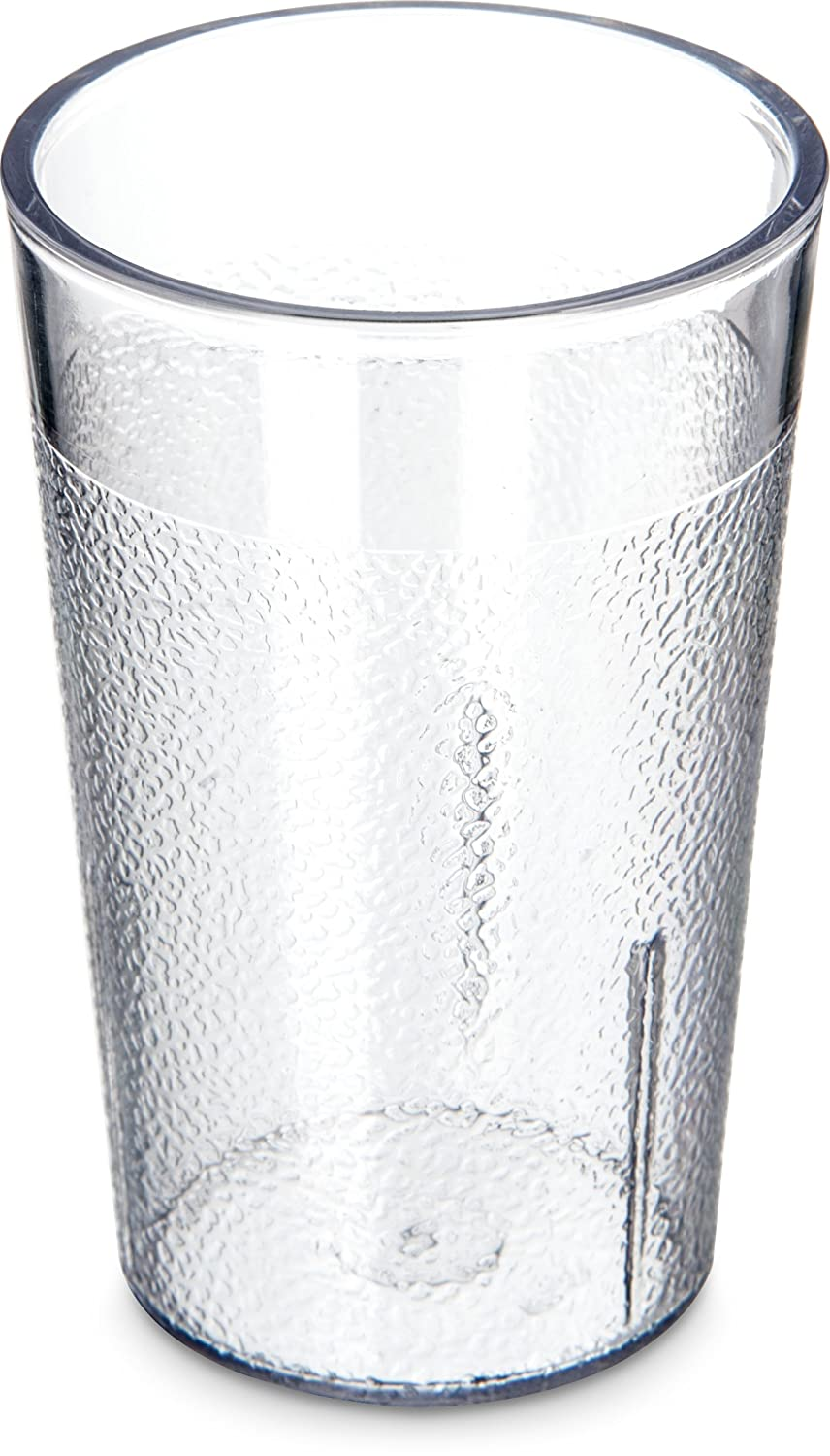 Carlisle 5501-8107 BPA Free Plastic Stackable Tumbler, 5 oz., Clear (Pack of 6)