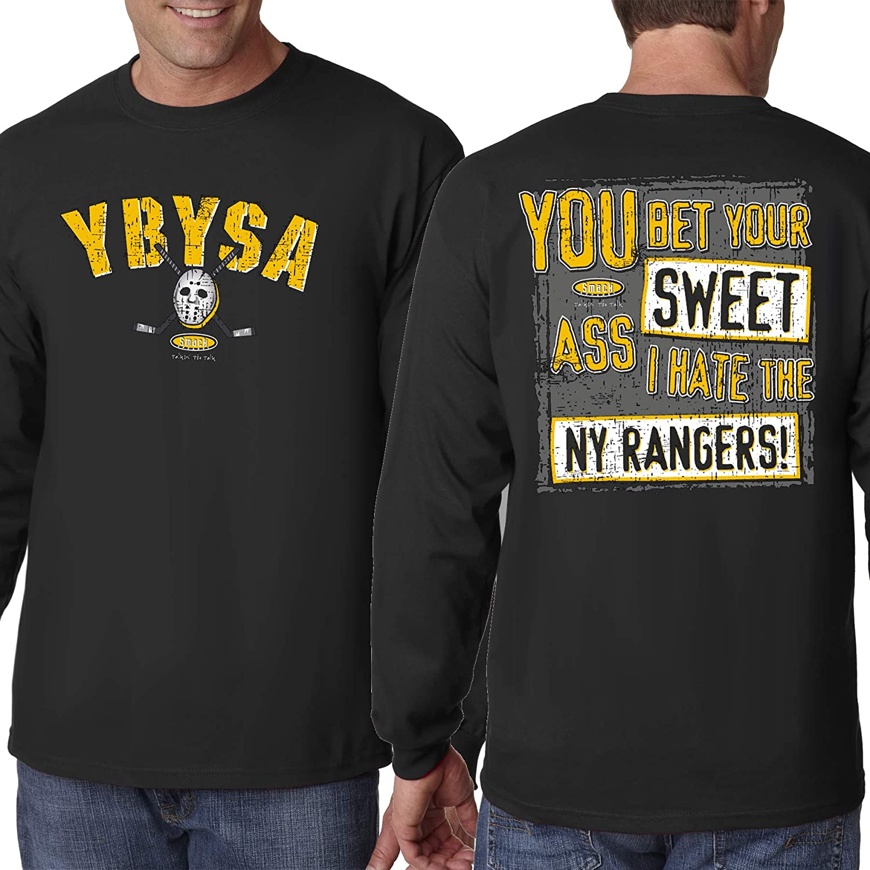 Boston Hockey Fans. YBYSA. Black T Shirt Sm 5X