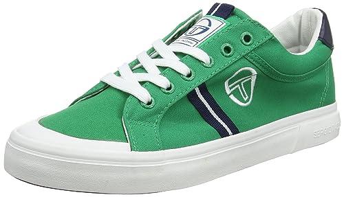 Sergio Tacchini ST. Tropez CVS, Zapatillas para Hombre, Verde (Green 03), 44 EU