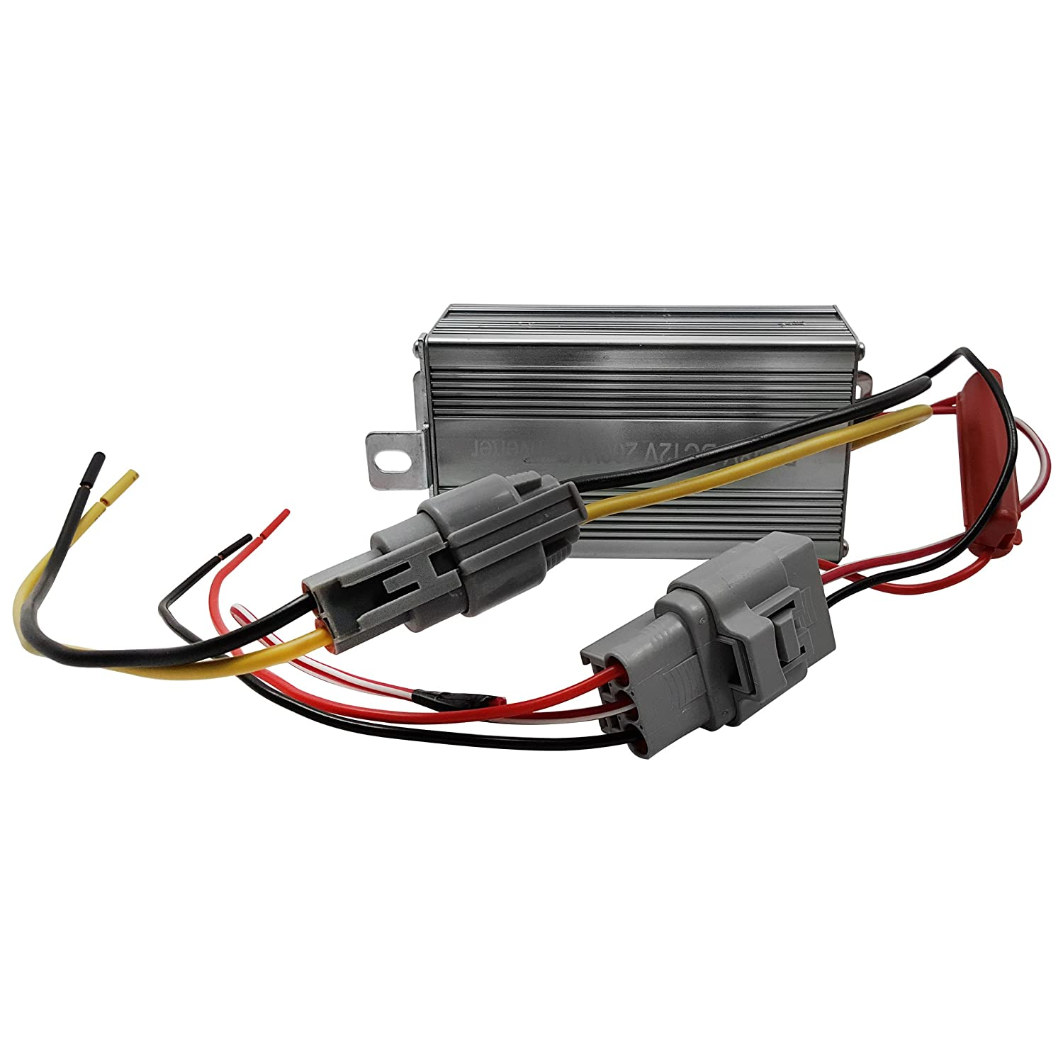 New Ezgo Rxv Light Kit 18 Amp Voltage Reducer 48 To 12 6 Volt Golf Cart Wiring Diagram Sports Outdoors