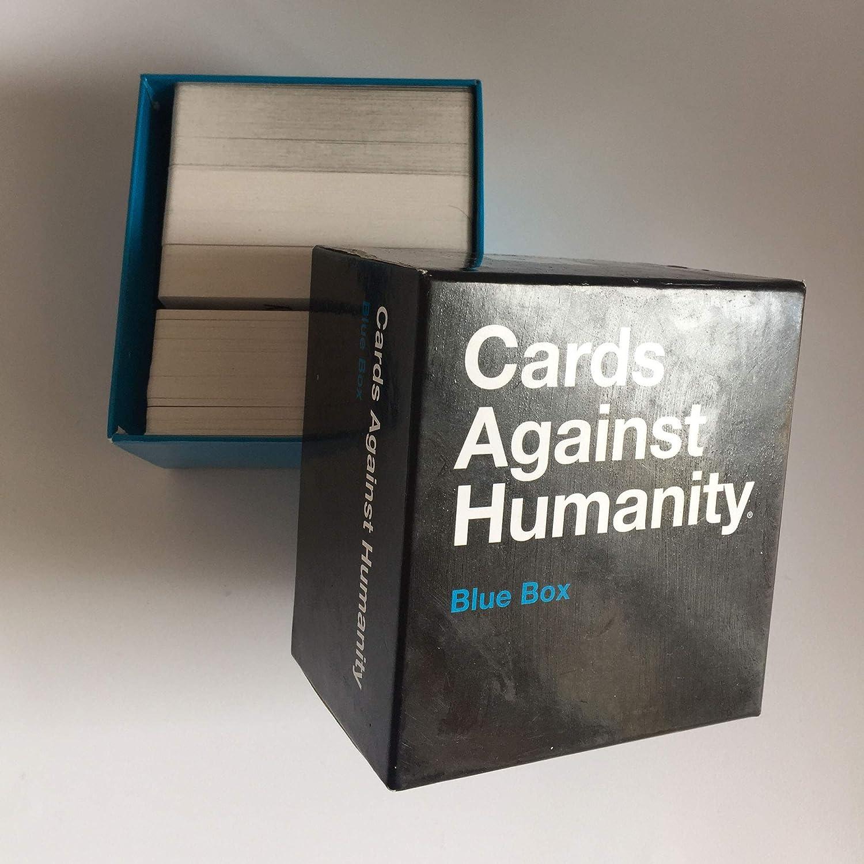Wansheng Juegos de Cartas para Adultos/Cartas contra la Humanidad: Caja Azul/Juegos de Fiesta: Amazon.es: Hogar