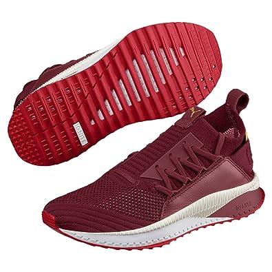 4689787f6435 Puma Tsugi JUN Colour Shift Damen Sneaker Pomegranate-Ribbon Red-White 3