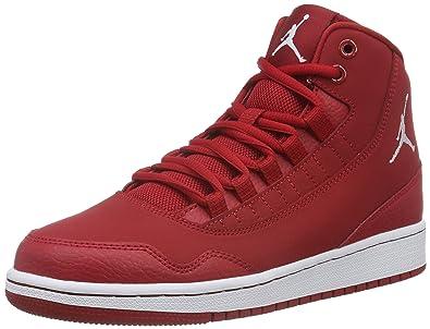 NIKE Unisex Kinder Jordan Executive (GS) Low Top, Rot (602