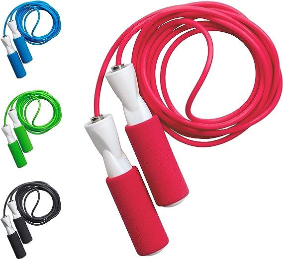 Corde /à Sauter,Jump Rope,Speed Rope,Skipping Rope,Corde /à Sauter R/églable avec Roulements /à Billes pour le Fitness lentra/înement dendurance la Combustion des Graisses