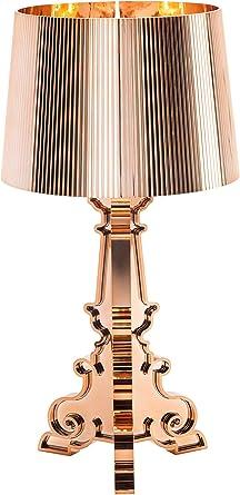 Kartell Bourgie Lampada Da Tavolo Dimmerabile E14 Oro Rame Amazon It Illuminazione