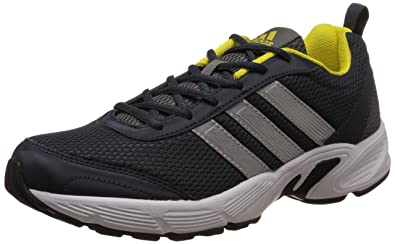 c9f020d6222de Adidas Men's Albis 1.0 M Grey, Silver, Bright Yellow and Black Sport  Running Shoes