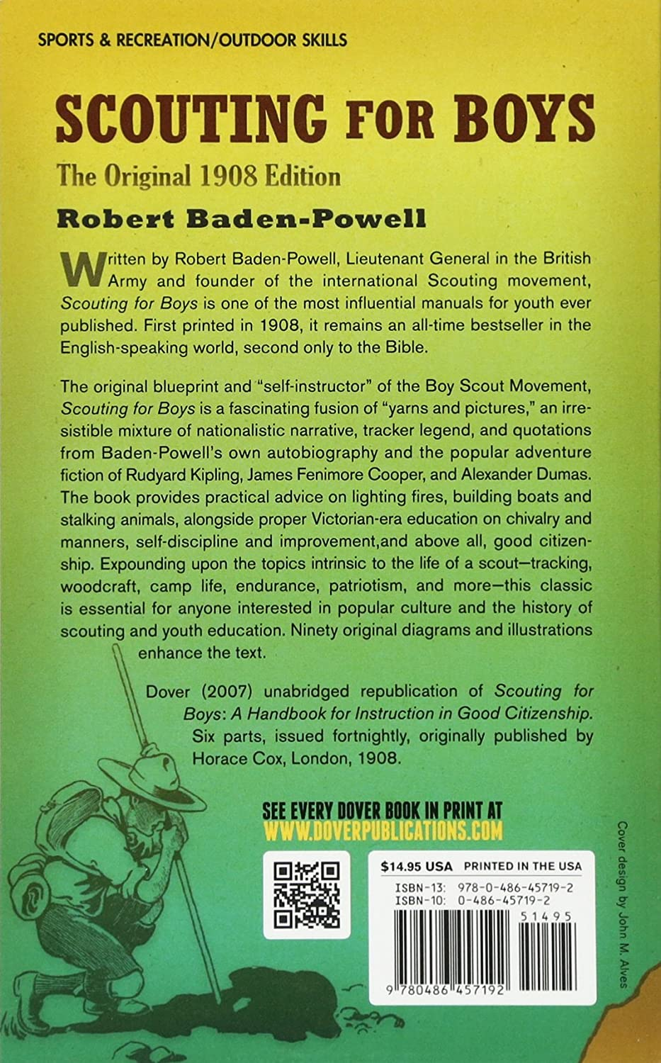 Amazon: Scouting For Boys: The Original 1908 Edition (dover Books On  Sports And Popular Recreations) (9780486457192): Robert Badenpowell: Books
