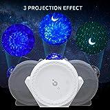 Star Projector, 3-1 Ocean Wave Projector Star Sky