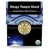 Organic Sleepy Temple Blend, 18 Bleach-Free Tea Bags – Organic Caffeine-Free Tea is a Great Source of Vitamins, Minerals…