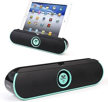 SAVFY Altavoz Portátil Bluetooth 4.0 Dobles Altavoces Estéreo ...