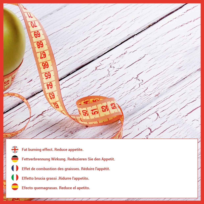 Garcinia Cambogia para adelgazar y como supresor de apetito – Suplemento alimenticio con propiedades quema grasas para combinarlo con una dieta ...