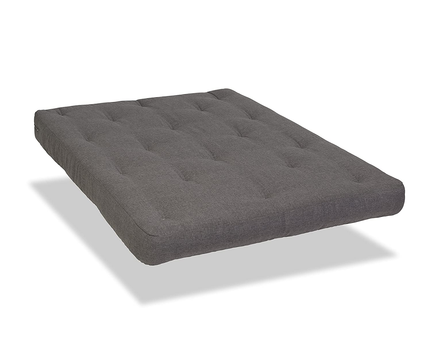 Serta Chestnut Double Sided Foam and Cotton Full Futon Mattress, Black, Made in the USA Wolf Corp S820B-2030