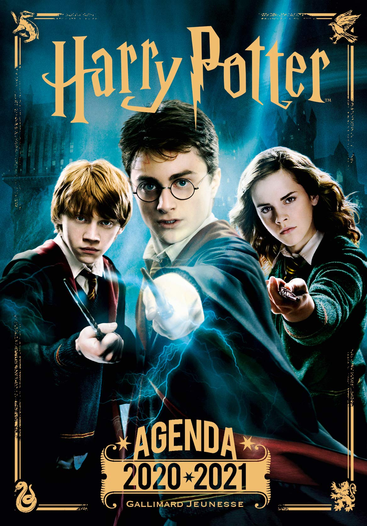Agenda Harry Potter 2020 2021 Amazon De Collectif Fremdsprachige Bucher