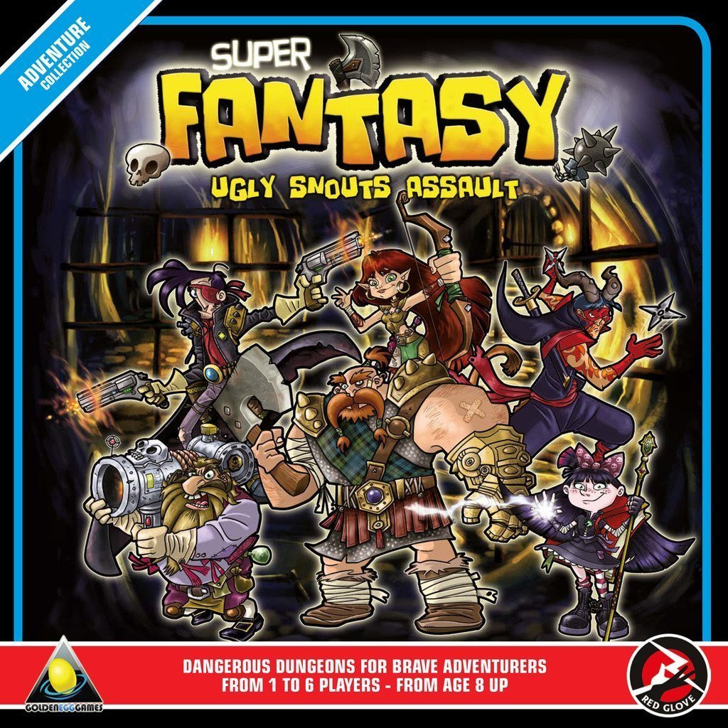Super Fantasy Boxed Board Game: Amazon.es: Golden Egg Games ...