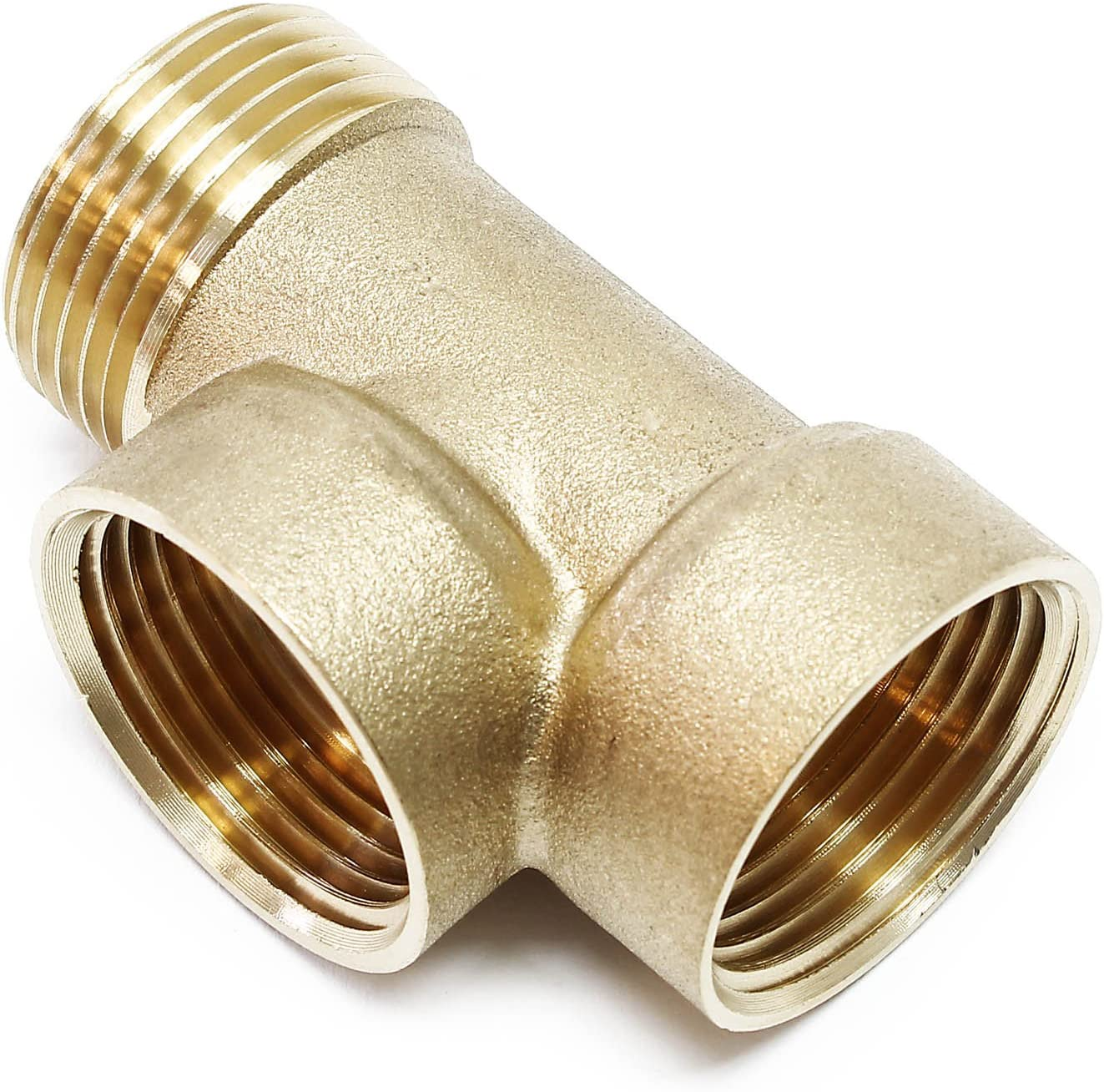 caldera de diafragma Abastecimiento de agua potable Distribuidor de 3 v/ías de lat/ón 3xDN25 1 pulgada