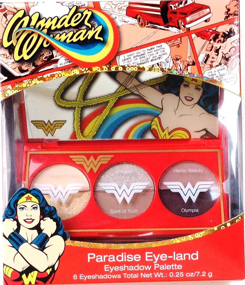 Wonder Woman ''Paradise Eye-land'' Eyeshadow Palette