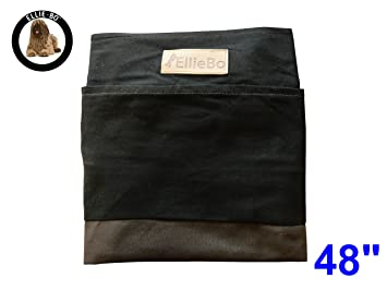 Ellie-Bo Repuesto Rayas Perro Cama Funda, cm, 117 x 75 cm, 2 x -Large, Negro/Marrón: Amazon.es: Productos para mascotas