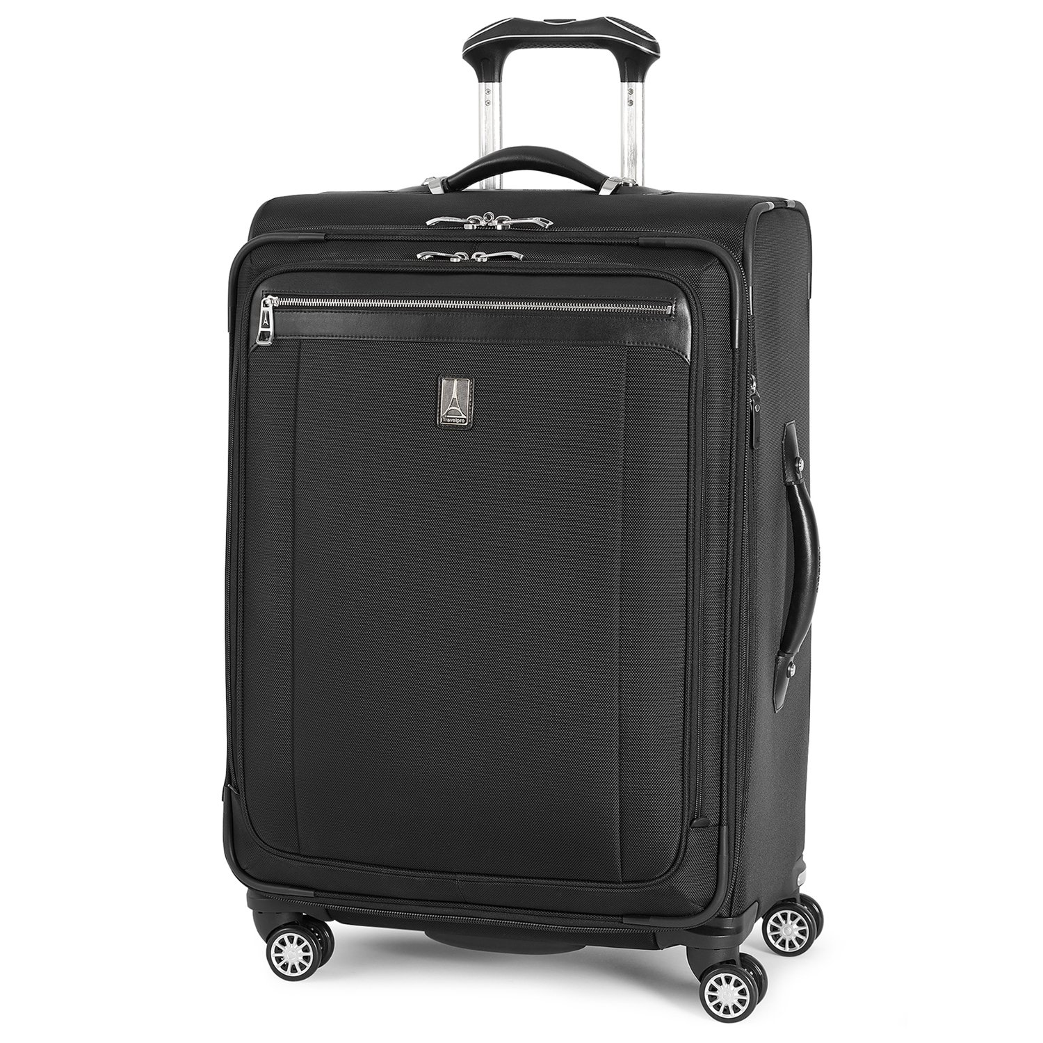 Travelpro Platinum Magna 2 Expandable Spinner Suiter Suitcase, 25-in., Black by Travelpro