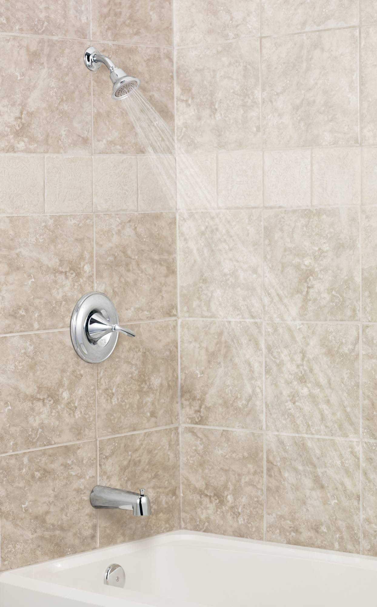 Moen T2131BN Eva PosiTemp Tub/Shower Valve Trim Kit without Valve, Brushed Nickel by Moen (Image #1)
