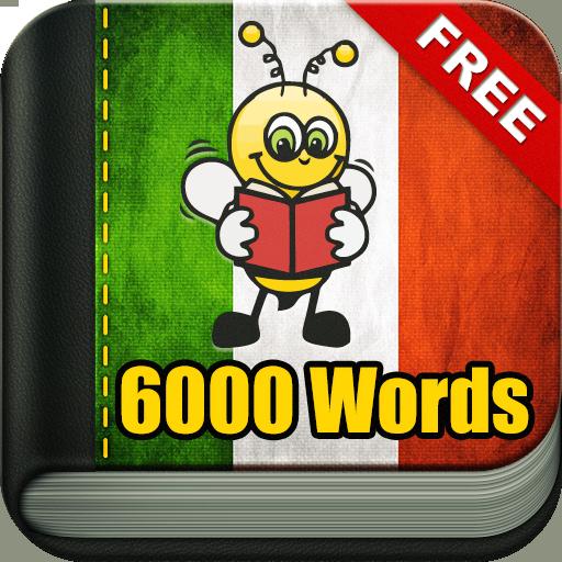 Learn Italian 6000 Words (Best App For Learning English Speaking)