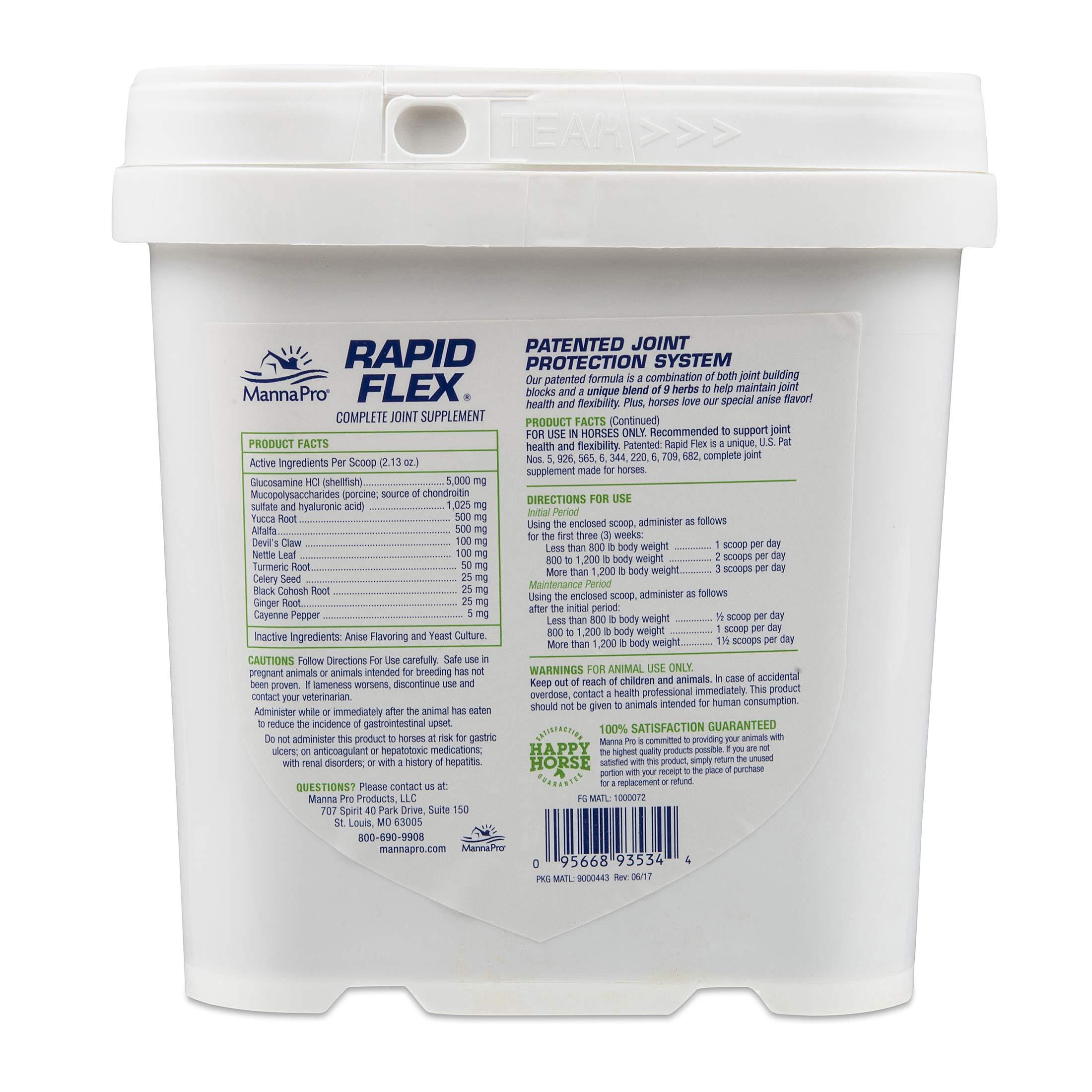 Manna Pro Rapid Flex Supplement, 4-Pounds by Manna Pro (Image #2)