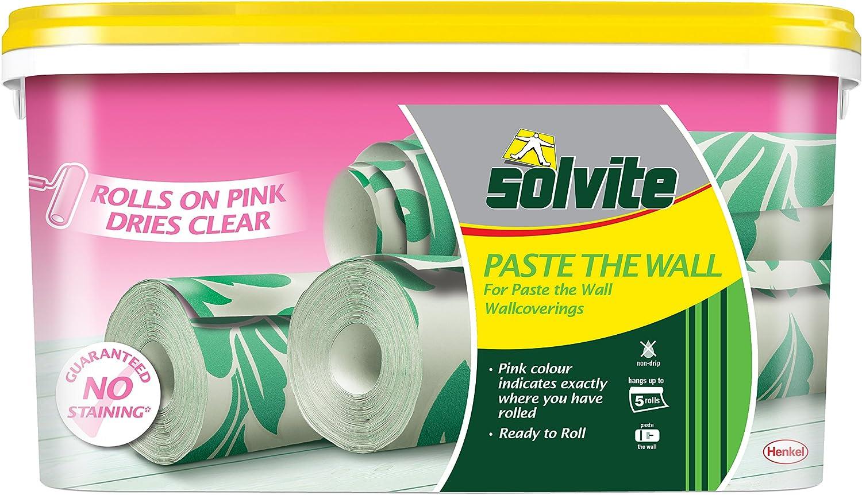 2029424 rosa /rosa Solvite 2029424/5-roll sulla parete ready-mix/