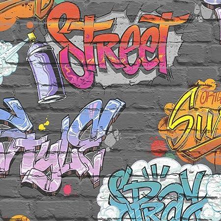 Muriva L17901 Street Style Wallpaper