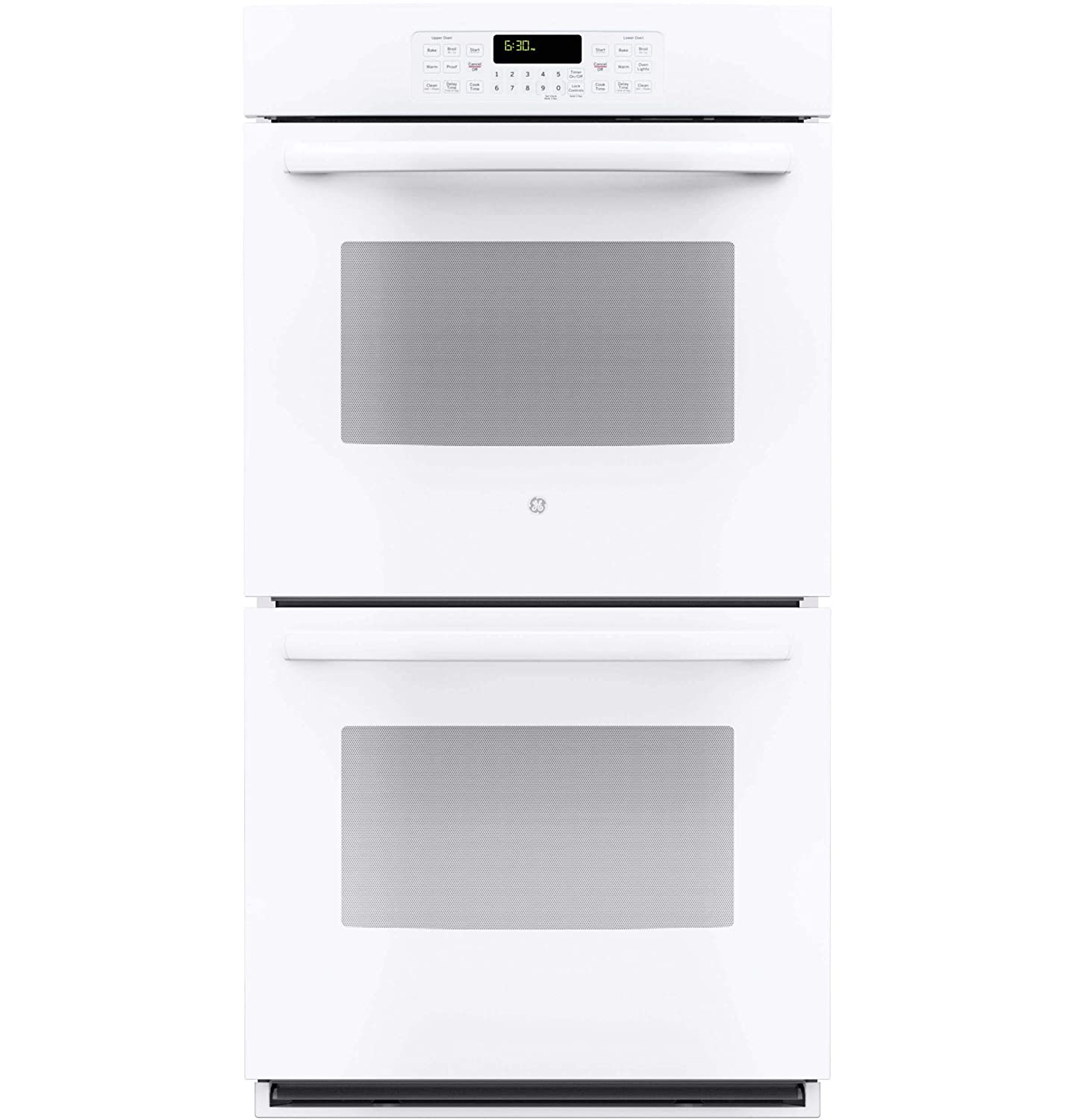 """GE JK3500DFWW 27"""" White Electric Double Wall Oven (Certified Refurbished)"""