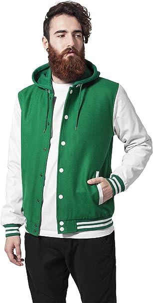 Urban Classics Herren Jacke Oldschool College Jacket: Amazon