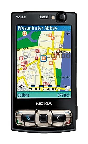 - 240 N95 Nokia Libre 8gb X So Negro 100 Symbian 2 De pantalla Mb 320 Color 8