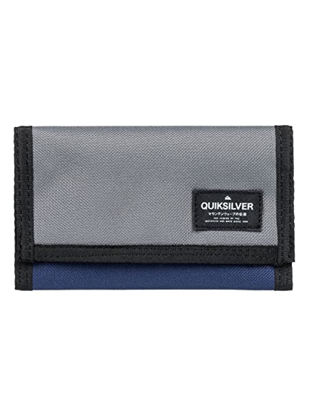Quiksilver - Cartera de Triple Hoja - Hombre - L - Negro: Quiksilver: Amazon.es: Ropa y accesorios