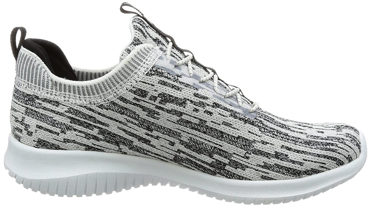 Skechers Women's Ultra Flex Bright Horizon US|White/Black Sneaker B01MZC6D8V 9.5 B(M) US|White/Black Horizon ed8877