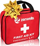 First Aid Kit Med Trauma Bag – All-Purpose Emergency Response Kit 192 Pieces – With Small First Aid Kit + Emergency eBook - The Ultimate Home, Outdoor, Car Medical Kit – Be Prepared Anywhere You Go!