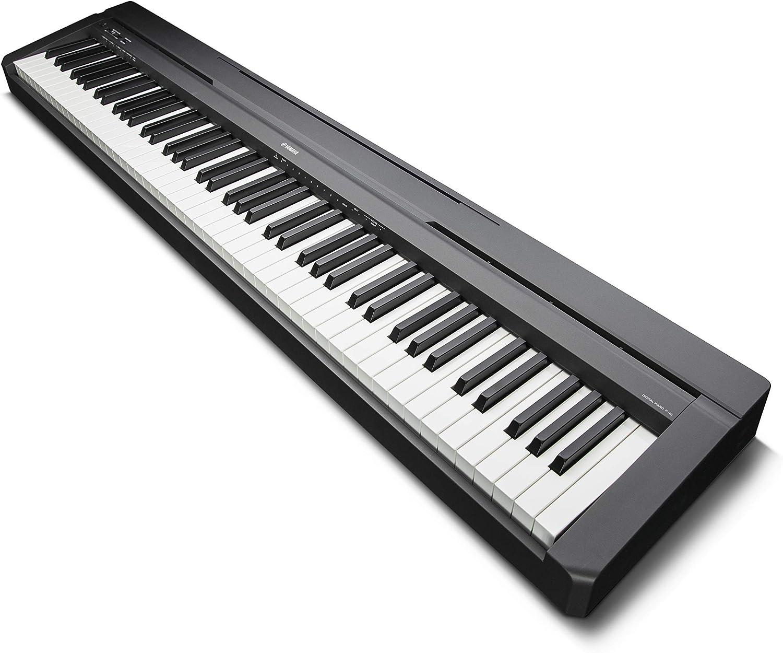 Yamaha P-45 - Piano digital ligero y portátil para aficionados y ...