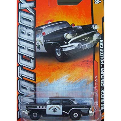 2012 Matchbox (69/120) '56 Buick Century Police Car: Toys & Games