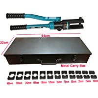 ISC 16-400mm² Hydraulic Crimping Tool With METAL Box for Copper, Aluminum Terminal Pliers YQK-400 Hydraulic