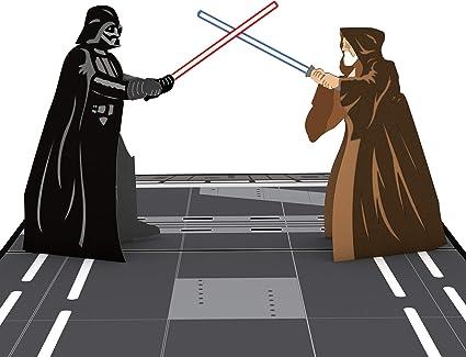 Lovepop Tarjeta emergente Darth Vader Guerra de las Galaxias 3D ...