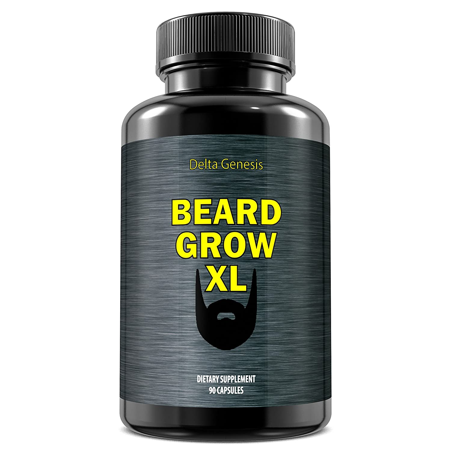 Beard Grow Xl Facial Hair Supplement 1 Mens Up Super Usa Growth Vitamins For Thicker And Fuller Health Personal Care