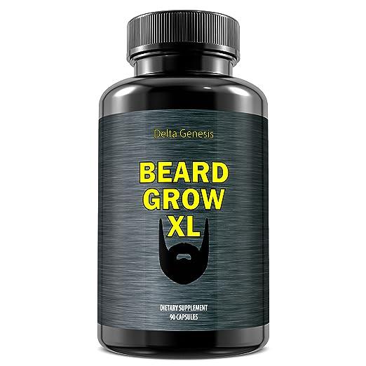 Beard Grow XL | Facial Hair Supplement