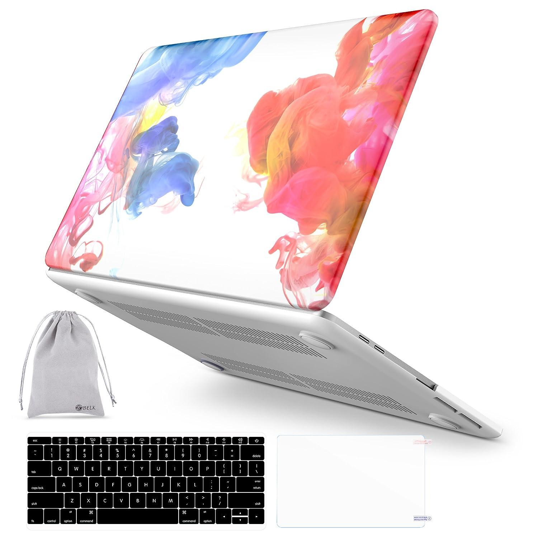 値引 BELK Macbook Pro 13ケース2017 Pro & Macbook 2016リリースa1706/ a1708、4 13インチwith - in - 1水彩アート水デカールプラスチックハードケースカバーwith 3アクセサリーセットfor MacBook Pro 13インチwith/ withoutタッチバーとタッチID Watercolor B0789FQZKG, 着物振袖袴花みやびレンタル:852f97ae --- senas.4x4.lt
