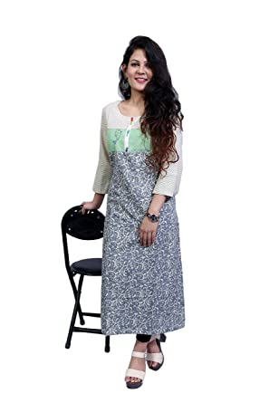c869c41015a Delight regular fit Women Multi Coloured Printed Straight Kurta  Amazon.in   Clothing   Accessories