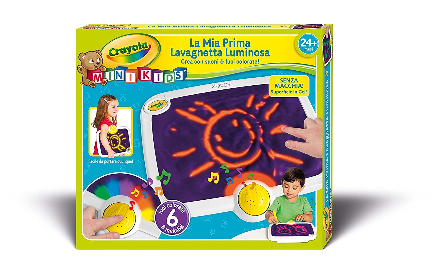 Amazon.com: Crayola My First Crayola Touch Lites Color Pad: Toys & Games