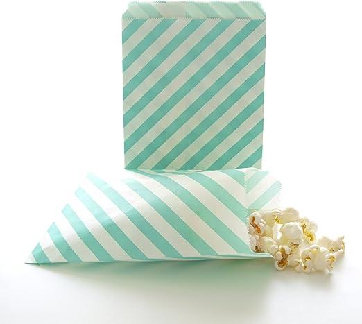 patrón de papel dulce Candy Bolsas Dulces Boda Tienda De Regalos Lunares A Rayas