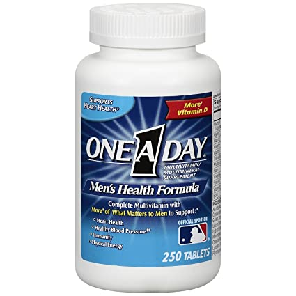 One A Day Mens Health Formula, 300 Tablets Complete Multivitamin with Lycopene Support Health Health