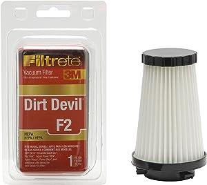 3M Filtrete Dirt Devil F2 HEPA Vacuum Filter - 1 filter(Colors may vary)