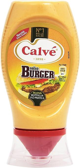 13 opinioni per Calvã¨- Salsa, Burger- 260 G 250 Ml