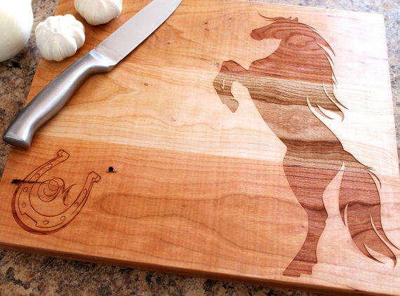 Personalized cutting board Custom engraved by 4EvergreenEngraving