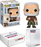 Funko Pop! NYCC Marvel Old Man Logan, Limited Edition Fall Convention Exclusive, Concierge Collectors Bundle