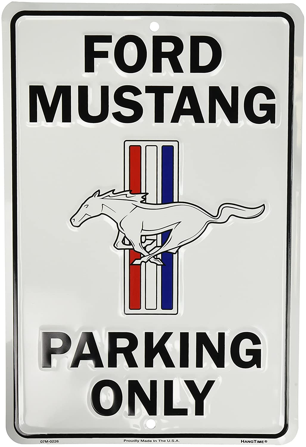Ford Mustang Parking Only Sign by HANGTIME