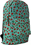 New Ladies/Womens Blue Lightweight Canvas Backpacks Ideal For School. - Blue - UK SIZES 1-1